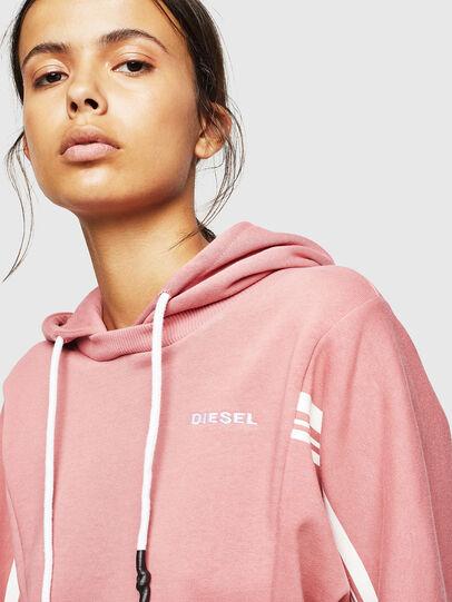 Diesel - UFLT-VERTIX-CROP, Rosa - Sweatshirts - Image 3