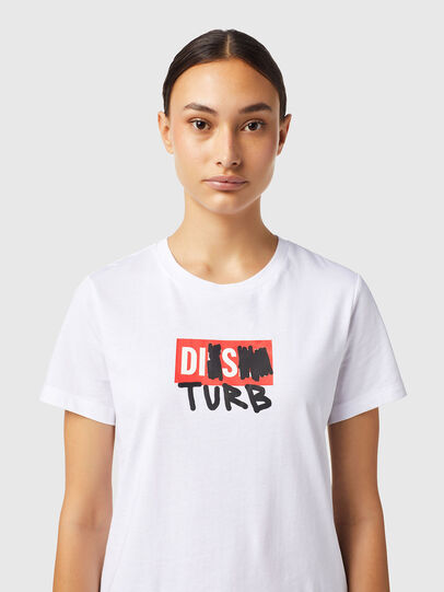 Diesel - T-SILY-B6, Weiß - T-Shirts - Image 3