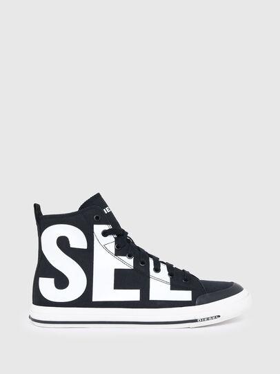 Diesel - S-ASTICO MID CUT, Schwarz/Weiss - Sneakers - Image 1