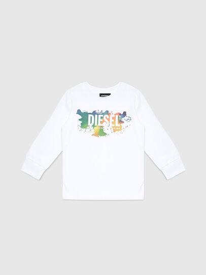 Diesel - TDOSKYB ML-R, Weiß - T-Shirts und Tops - Image 1