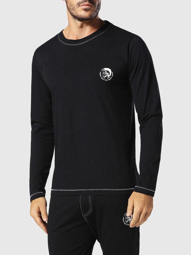 Diesel - UMLT-JUSTIN, Schwarz - T-Shirts - Image 1