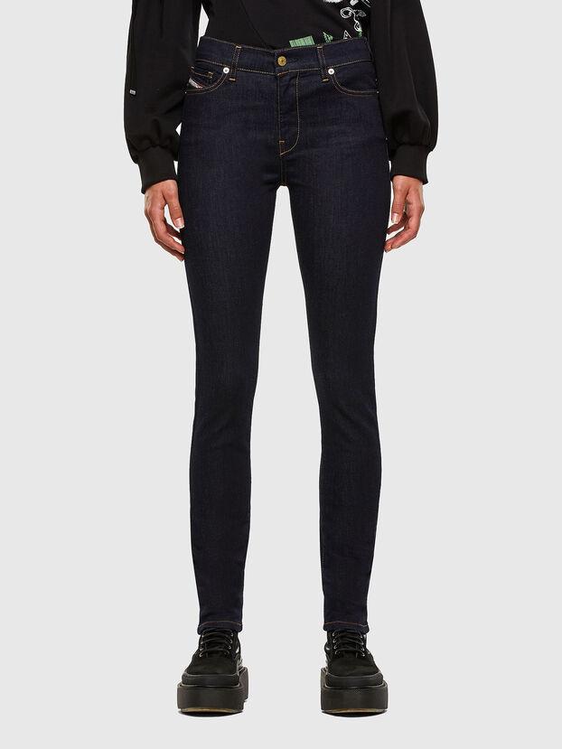 D-Roisin 0098L, Dunkelblau - Jeans