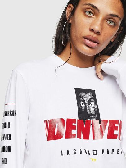 Diesel - LCP-T-JUST-LS-DENVER, Weiß - T-Shirts - Image 5