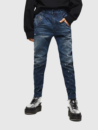 Diesel - Fayza JoggJeans 083AS, Dunkelblau - Jeans - Image 1