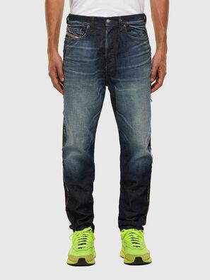D-Vider 009GR, Schwarz/Dunkelgrau - Jeans