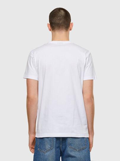 Diesel - T-DIEGOS-E32, Weiß - T-Shirts - Image 2
