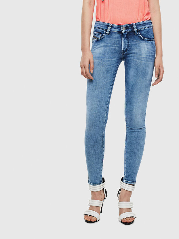 Slandy Low 0095P, Hellblau - Jeans