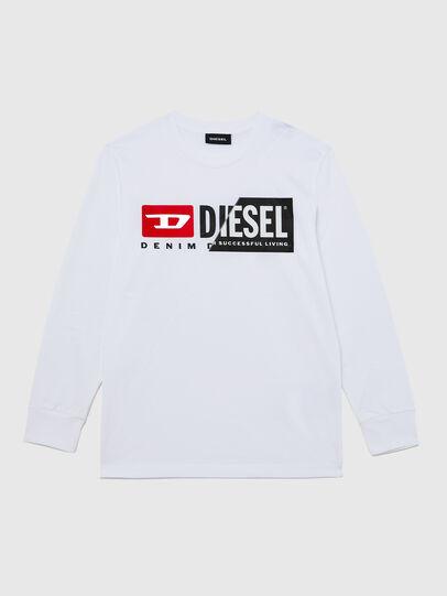 Diesel - TDIEGOCUTY ML, Weiß - T-Shirts und Tops - Image 1