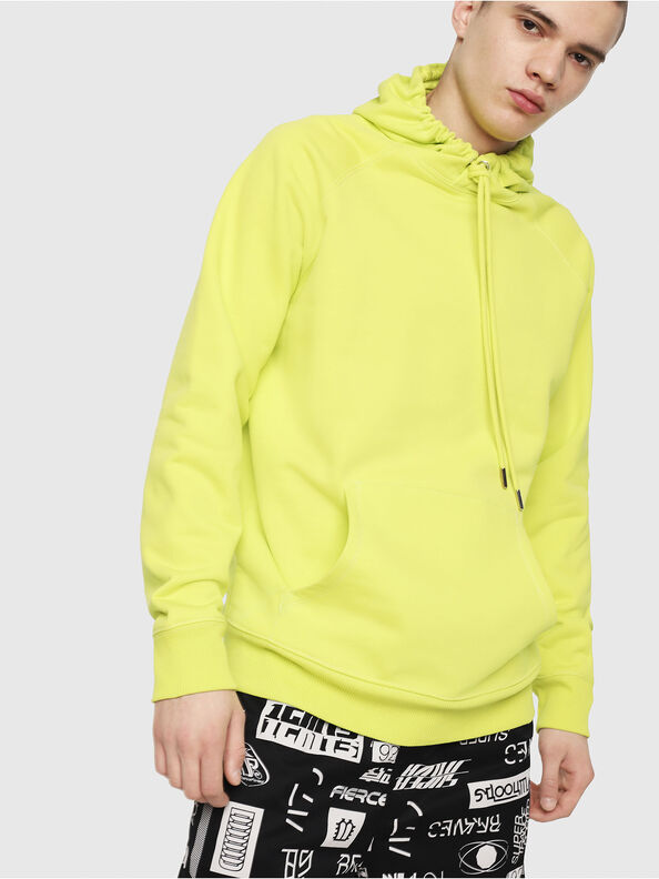 S-GIM-HOOD-A, Neongelb - Sweatshirts
