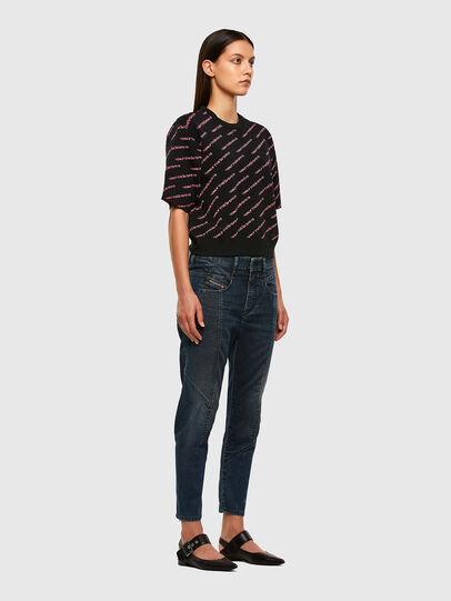 Diesel - FAYZA JoggJeans® 069PQ, Dunkelblau - Jeans - Image 7