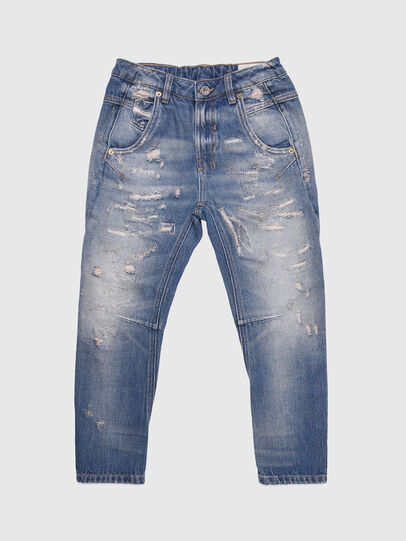 Diesel - FAYZA-J-N, Jeansblau - Jeans - Image 1