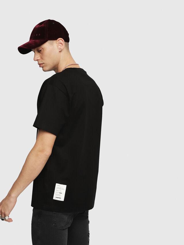 Diesel - T-WALLACE-YC, Schwarz - T-Shirts - Image 2