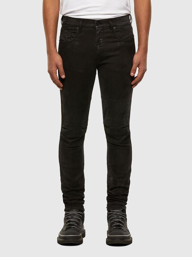 D-Strukt JoggJeans 009GH, Schwarz/Dunkelgrau - Jeans