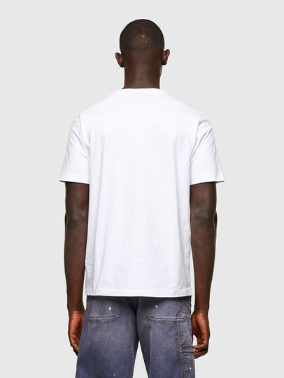 Diesel - T-JUST-A43, Weiß - T-Shirts - Image 2