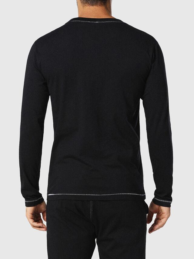 Diesel - UMLT-JUSTIN, Schwarz - T-Shirts - Image 2
