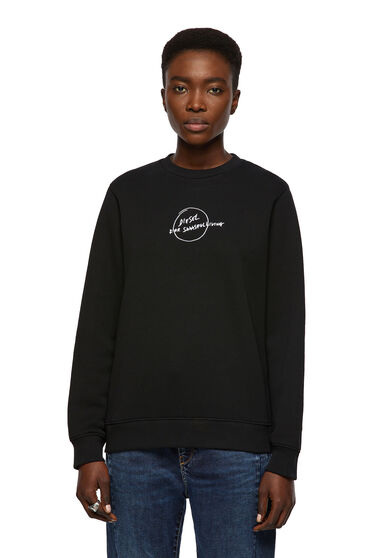 Green Label Sweatshirt mit handschriftlichem Logo