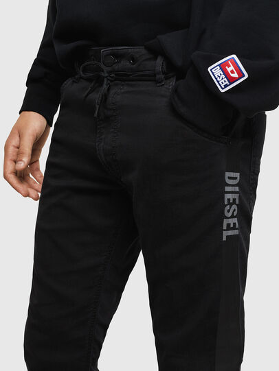 Diesel - Krooley JoggJeans 069JH, Schwarz/Dunkelgrau - Jeans - Image 3