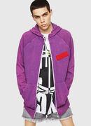 S-GIM-HOOD-ZIP, Violett - Sweatshirts