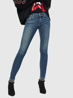 Slandy 083AL, Mittelblau - Jeans