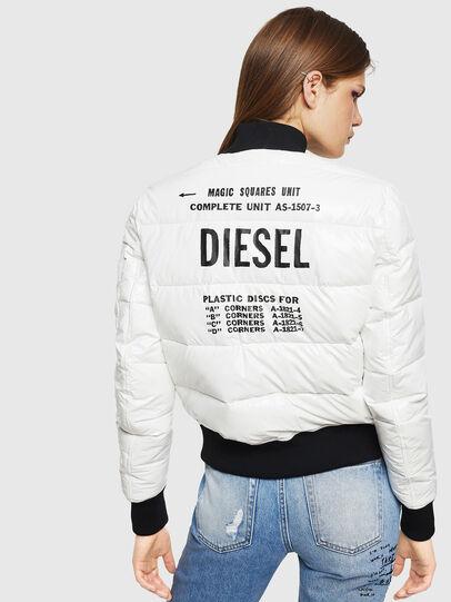 Diesel - W-ONY, Weiß - Winterjacken - Image 2
