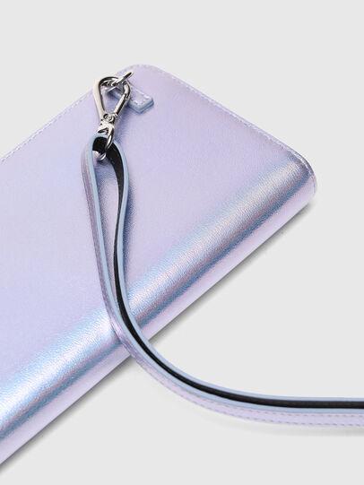 Diesel - GRANATO LCLS, Silber - Portemonnaies Zip-Around - Image 3