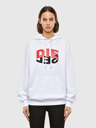 Diesel - S-GIRK-HOOD-N1, Weiß - Sweatshirts - Image 2