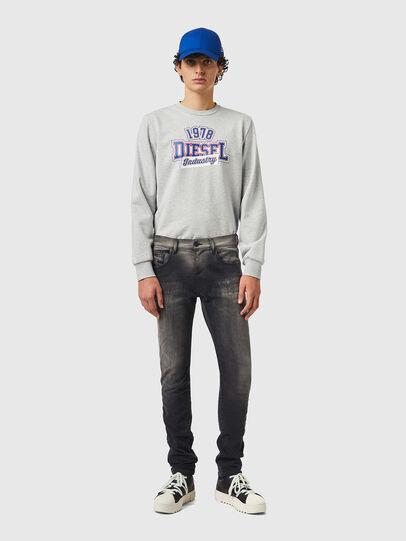 Diesel - D-Strukt JoggJeans® 09B04, Schwarz/Dunkelgrau - Jeans - Image 5