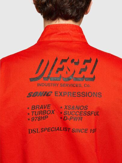 Diesel - J-HALLS-PRINT, Orange - Jacken - Image 4