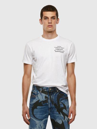 Diesel - T-DIEGOS-X44, Weiß - T-Shirts - Image 5