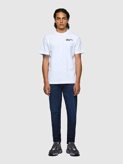 Diesel - T-JUST-B56, Weiß - T-Shirts - Image 4