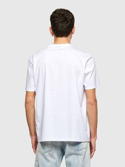 Diesel - T-JUST-E7, Weiß - T-Shirts - Image 2