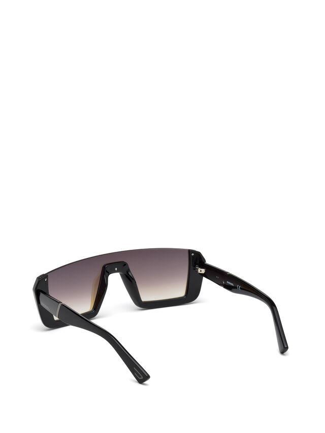 Diesel - DL0248, Brillantschwarz - Sonnenbrille - Image 2