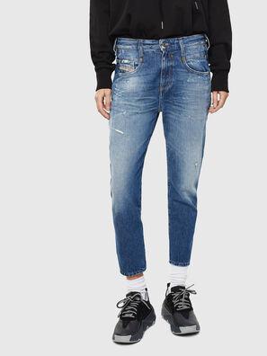 Fayza 0097B, Mittelblau - Jeans