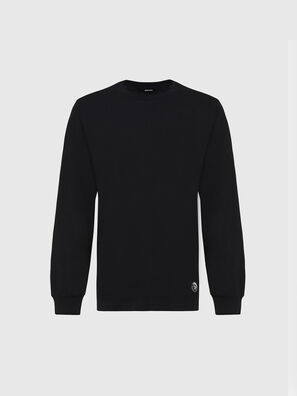 T-JUST-LS-MOHI, Schwarz - T-Shirts