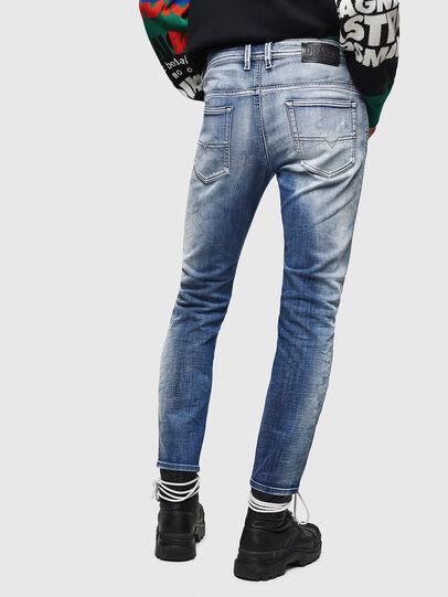 Diesel - Thommer JoggJeans 0870N, Mittelblau - Jeans - Image 2