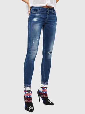 Slandy 089AI, Mittelblau - Jeans