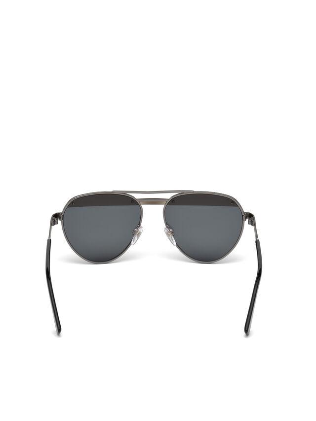 Diesel - DL0261, Schwarz/Grau - Sonnenbrille - Image 7