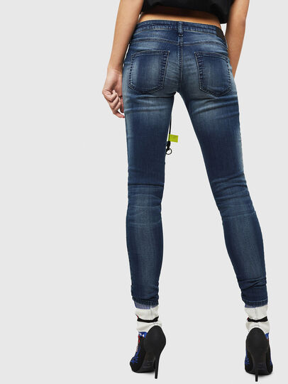 Diesel - Gracey JoggJeans 069HF, Dunkelblau - Jeans - Image 2