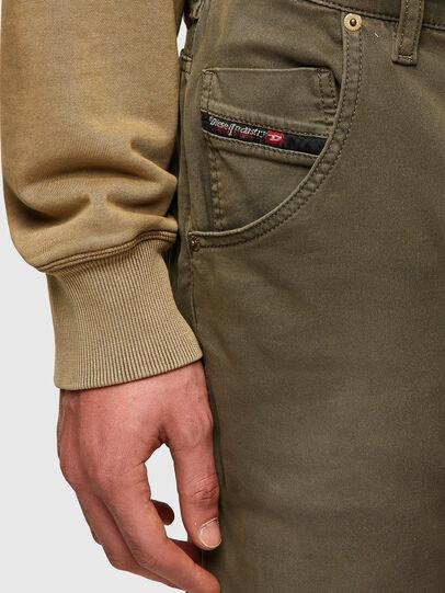 Diesel - Krooley JoggJeans® 0670M, Dunkelgrün - Jeans - Image 4