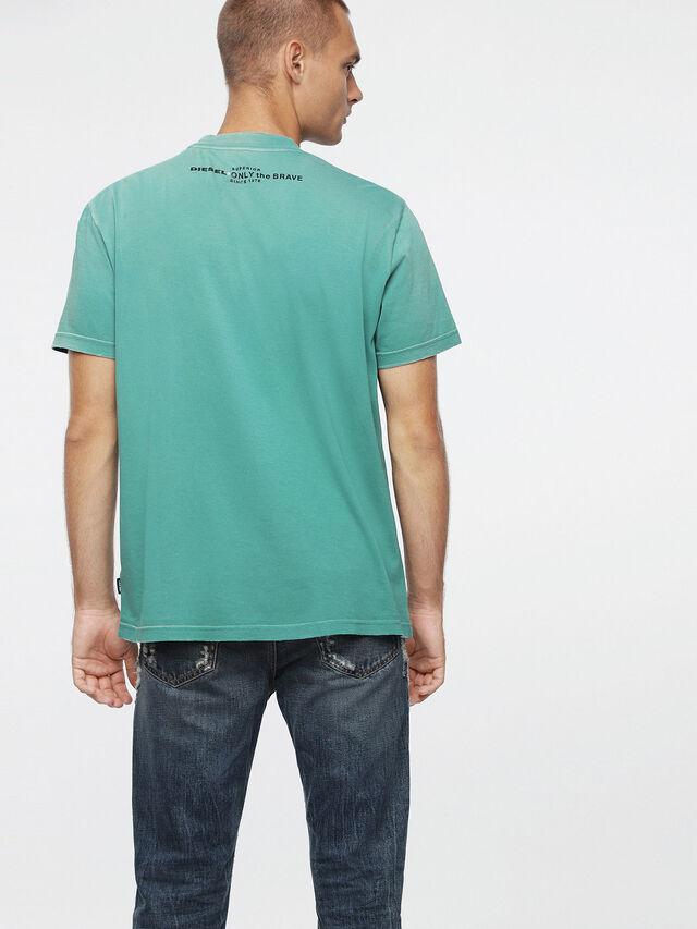 Diesel - T-JOEY-T, Wassergrün - T-Shirts - Image 2