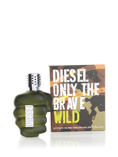 Diesel - ONLY THE BRAVE WILD 75ML, Grün - Only The Brave - Image 2