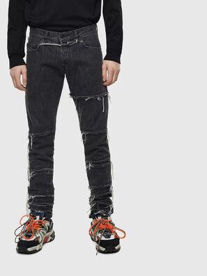 D-Kras 009CD, Schwarz/Dunkelgrau - Jeans