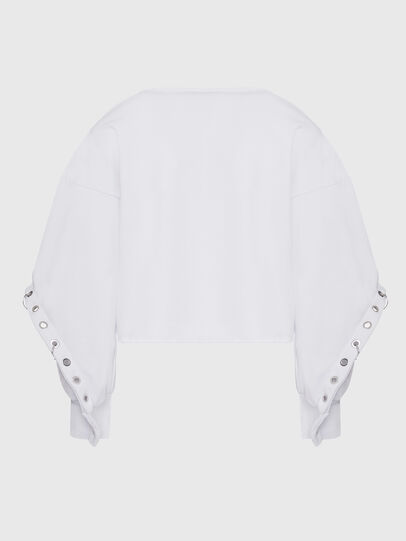 Diesel - F-OLL, Weiß - Sweatshirts - Image 2