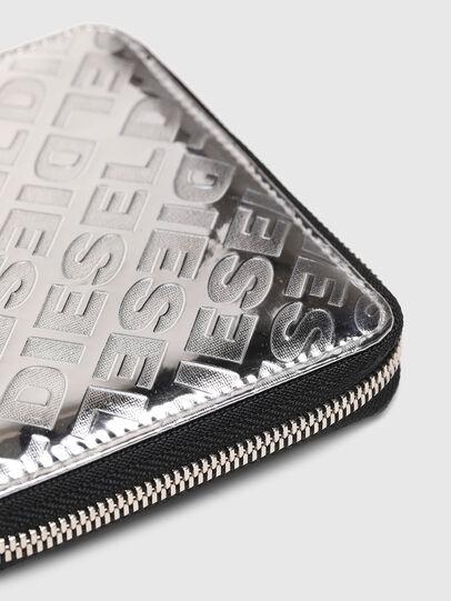 Diesel - PI-ZIP, Silber - Portemonnaies Zip-Around - Image 5