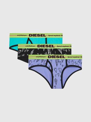 UFPN-OXY-THREEPACK, Grün/Schwarz - Panties
