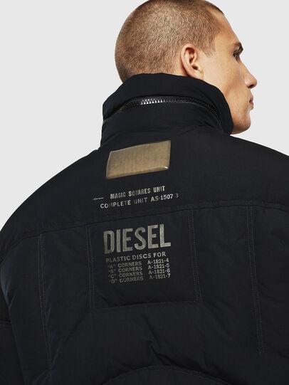 Diesel - W-PETR, Schwarz - Winterjacken - Image 5