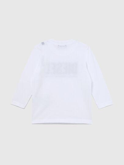 Diesel - TJUSTLOGOB ML-R, Weiß - T-Shirts und Tops - Image 2