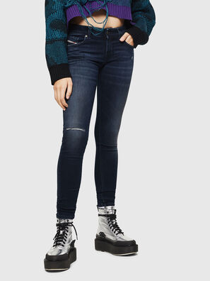 Slandy Low 0870C, Dunkelblau - Jeans