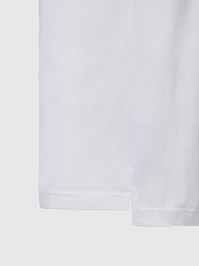 Diesel - T-JUST-SLITS-X85, Weiß - T-Shirts - Image 4