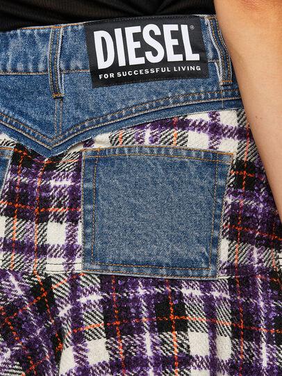 Diesel - O-BETH-BUCLE, Blau/Violett - Röcke - Image 4
